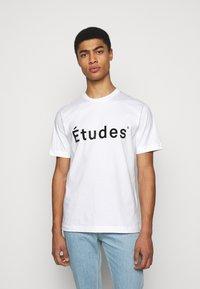Études - UNISEX - Print T-shirt - white - 0