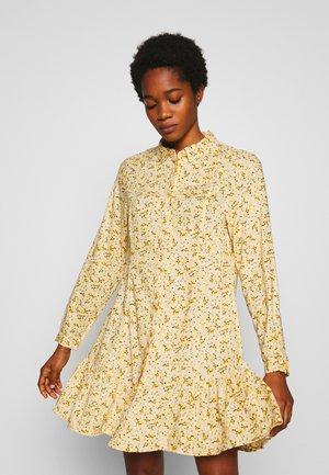 MIRANDA DRESS ASIA - Košilové šaty - yellow