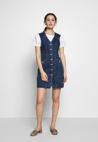 Neuw - ETTA DRESS - Denim dress - dark-blue denim - 1
