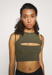 Tiger Mist - FIFI CROP - Top - khaki - 5