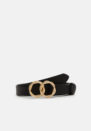 PCHARREN JEANS BELT - Belt - black/gold-coloured