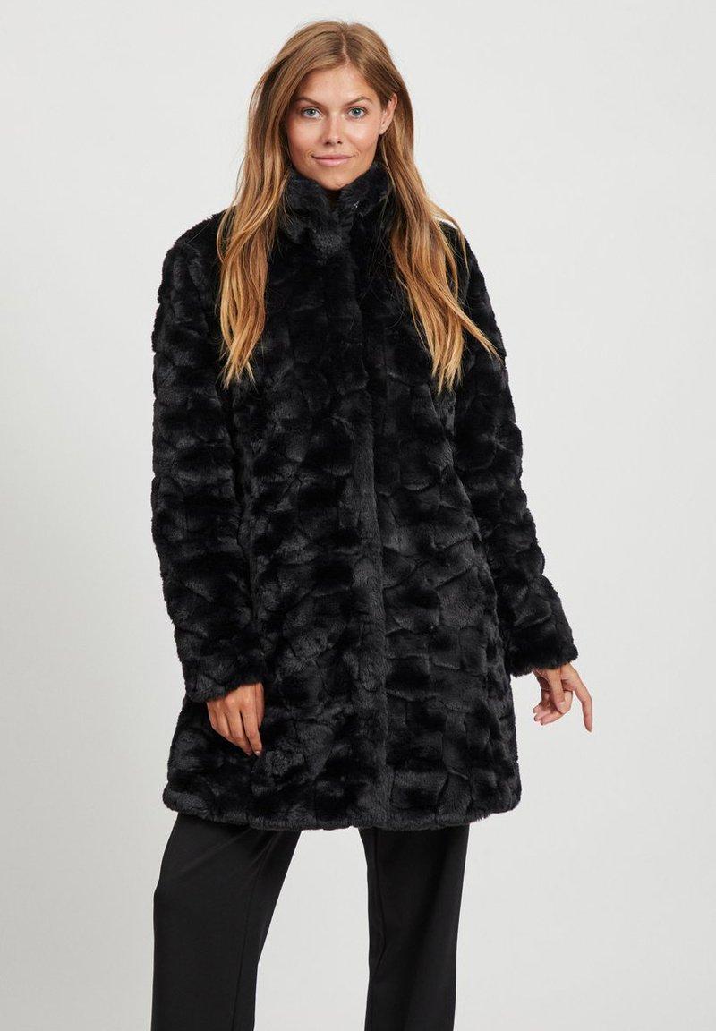 Vila - Winter coat - black