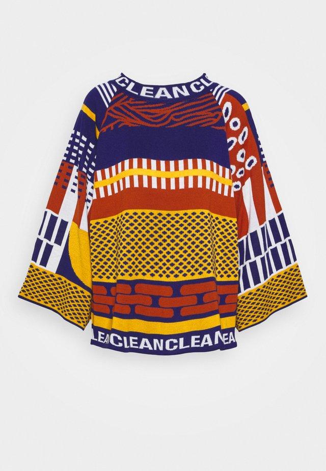 CLEAN TRUMPET - Stickad tröja - dat gold