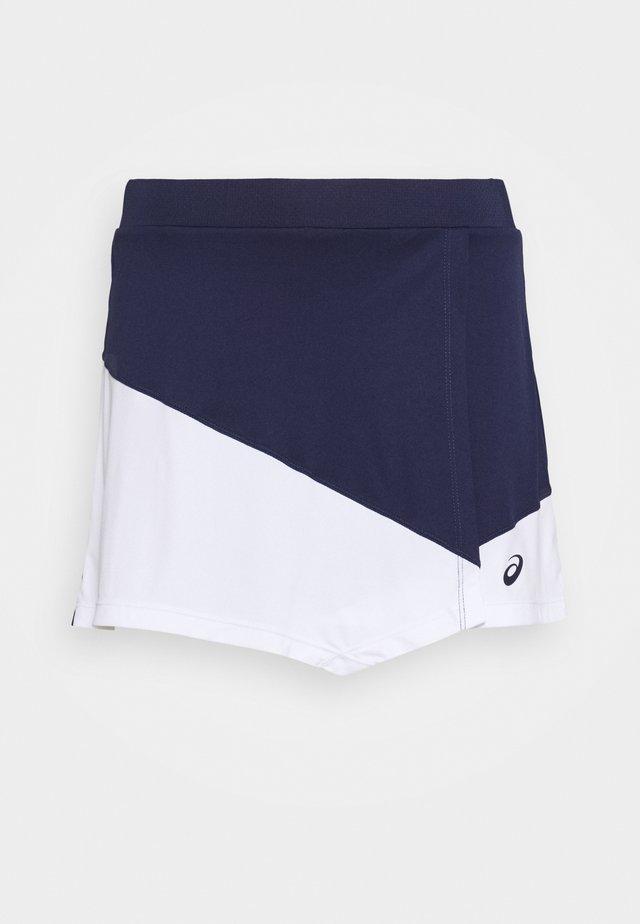 CLUB SKORT - Sportkjol - peacoat/brilliant white