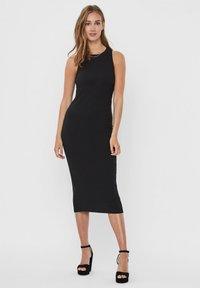 Vero Moda - VMLAVENDER DRESS - Maxi šaty - black - 1