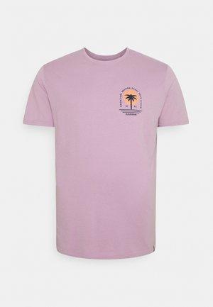 CHEST TEE  BACK - T-shirt med print - purple
