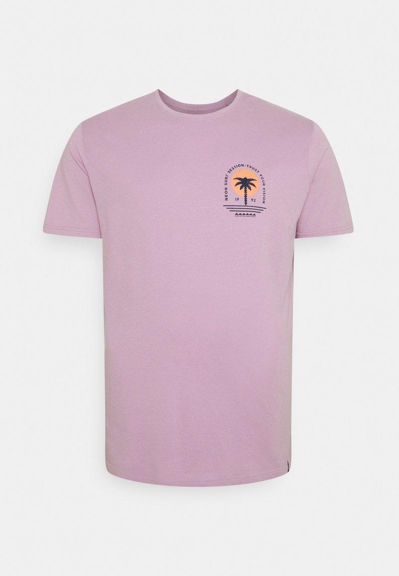 Shine Original - CHEST TEE  BACK - Print T-shirt - purple