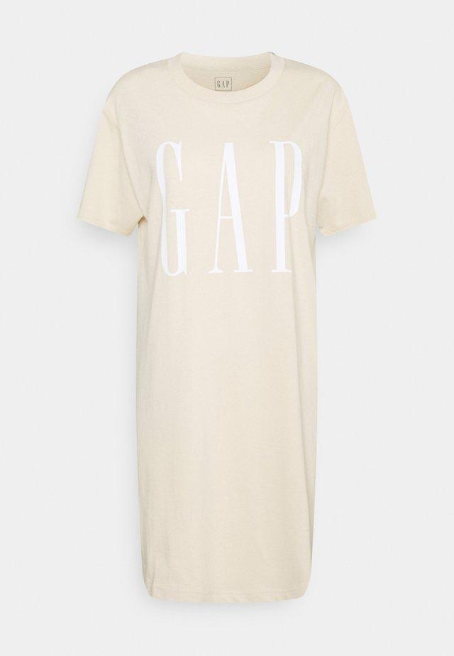 TALL DRESS - Sukienka z dżerseju - ecru