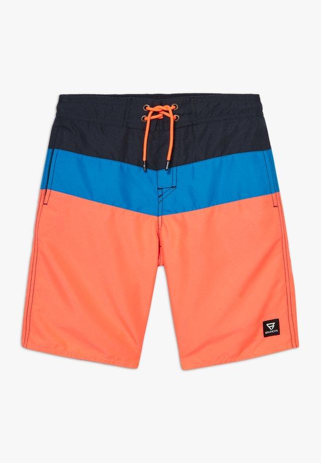 CATAMARAN JR BOYS - Swimming shorts - coral/blue