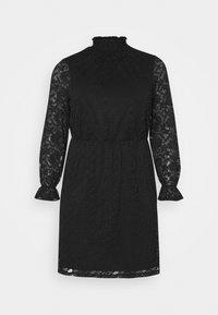 CARLAICE KNEE DRESS - Day dress - black