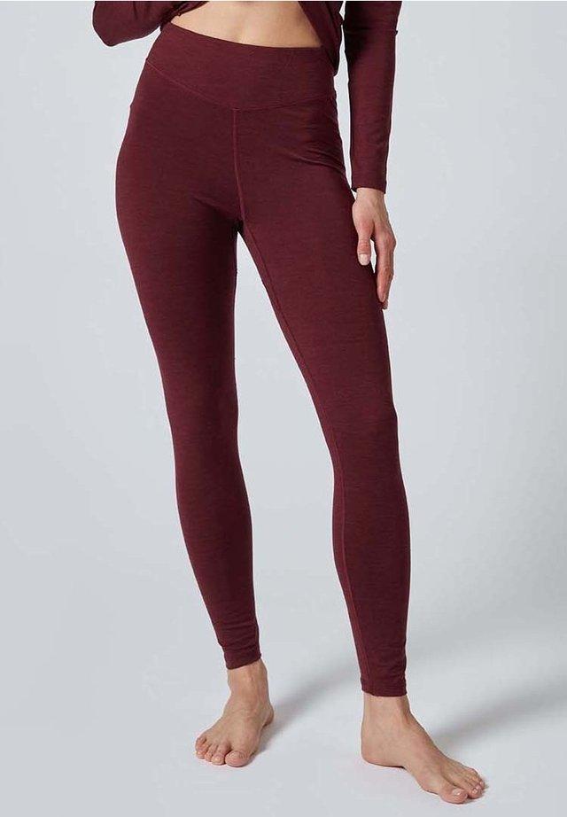 Leggings - Trousers - red velvet