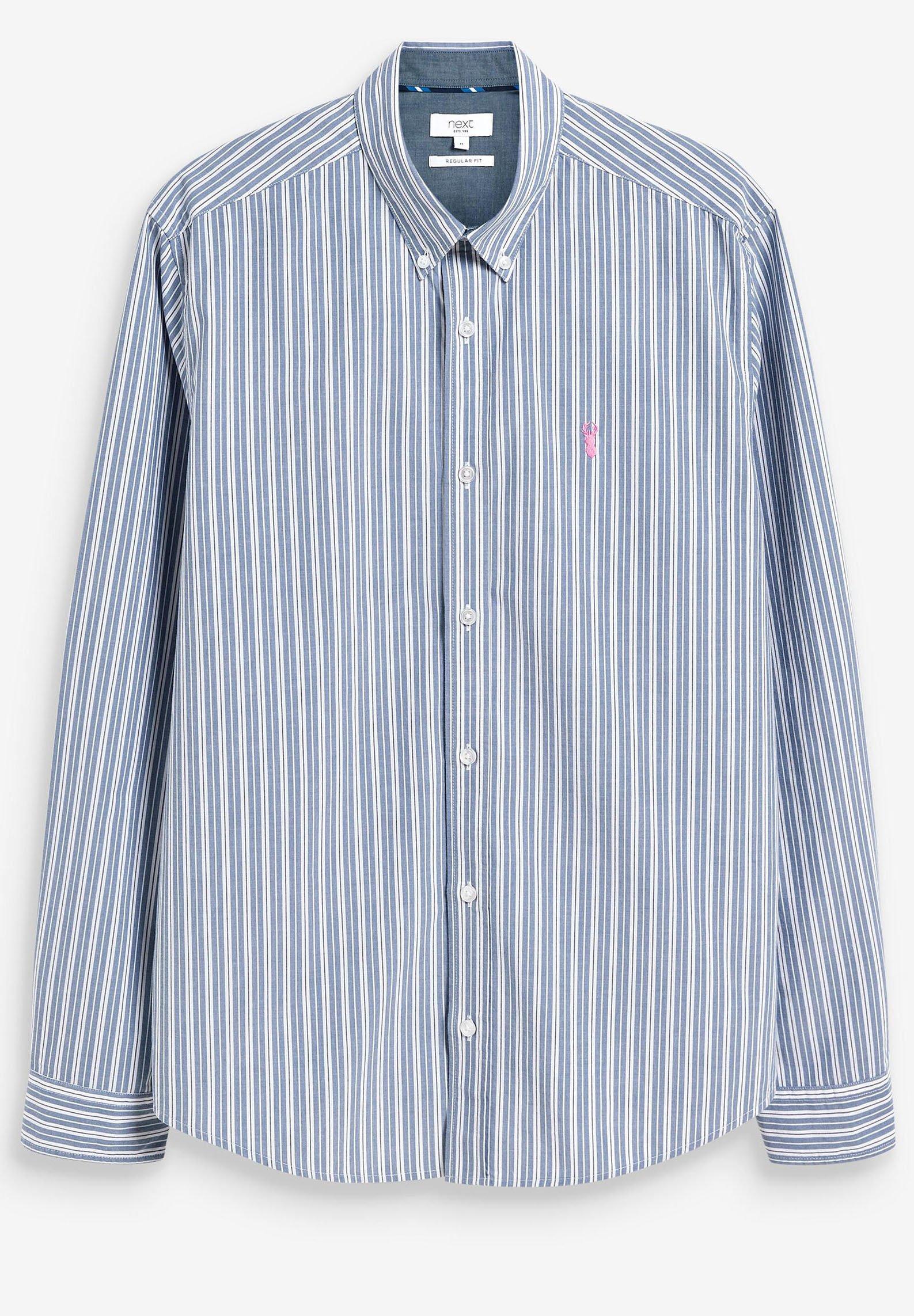 Herren STRIPE ROLL  - Hemd