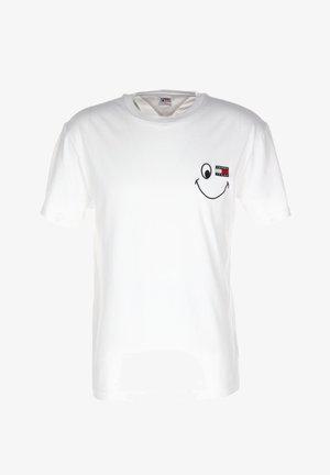 TJM BADGE GRAPHIC  - Print T-shirt - white