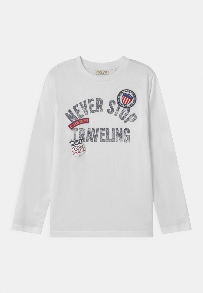 OVS - Long sleeved top - brilliant white