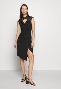 Sista Glam - YALINDA - Sukienka koktajlowa - black - 0