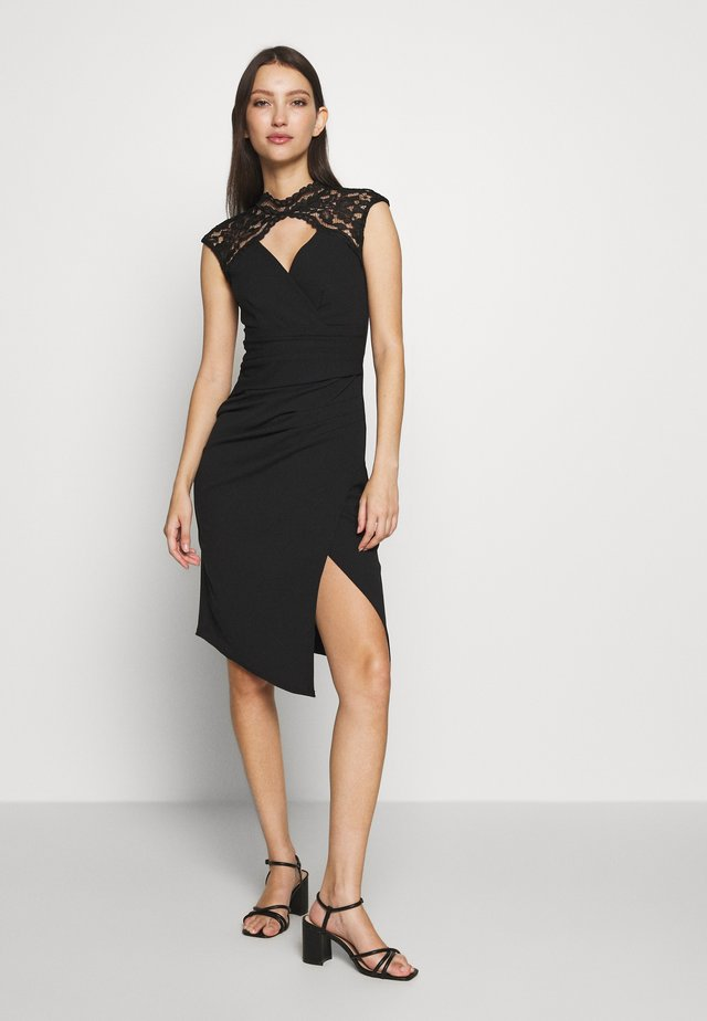 YALINDA - Cocktail dress / Party dress - black