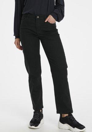 Straight leg jeans - black deep