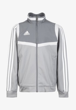 TIRO 19 PRESENTATION TRACK TOP - Veste de survêtement - grey/white