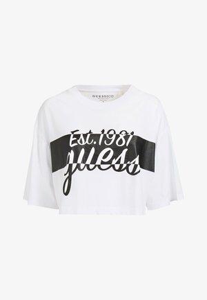 VORN - Print T-shirt - weiß