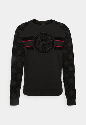 ARLON CREW - Collegepaita - black