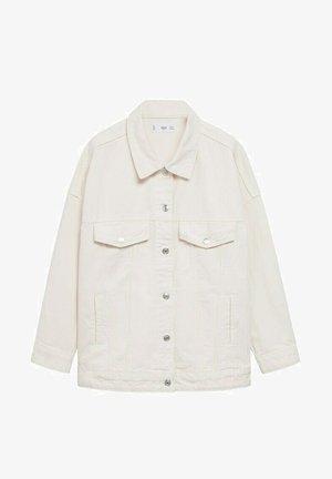 OVERSIZED - Denim jacket - ecru