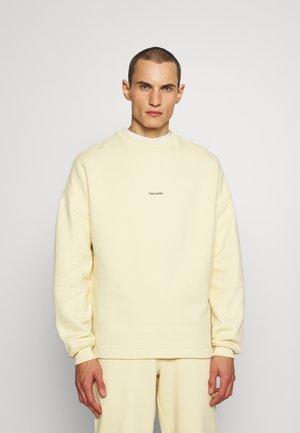 FLEA CREW - Sweatshirt - light yellow