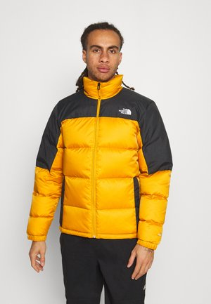 DIABLO  - Down jacket - citrine yellow/black