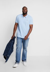 Esprit - BASIC PLUS BIG - Polo shirt - light blue - 1