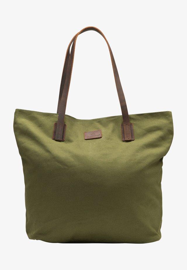 Shopping bag - oliv braun