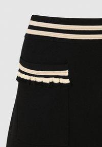 sandro - A-line skirt - noir - 2