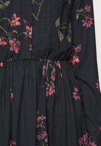Vero Moda Tall - VMGALLIE DRESS  - Shirt dress - black - 3