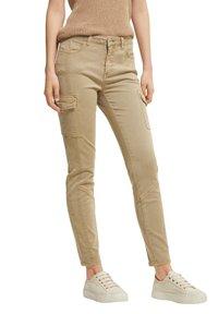 comma casual identity - Pantaloni cargo - sand - 0