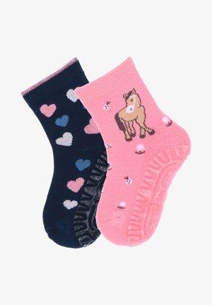 2 PACK - Socks - rosa