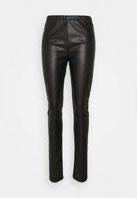 MM6 Maison Margiela - PANTS - Trousers - black - 0