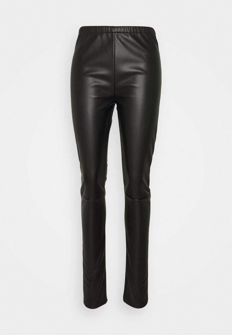 MM6 Maison Margiela - PANTS - Trousers - black