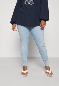 Levi's® Plus - MILE HIGH - Jeans Skinny Fit - naples shine - 0