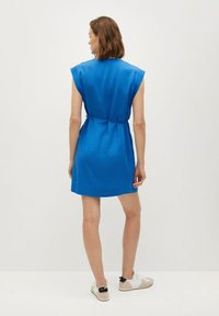 Mango - VESTIDO - Korte jurk - azul - 1