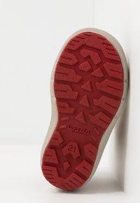 Superfit - GROOVY - Winter boots - gelb/beige/rot - 4