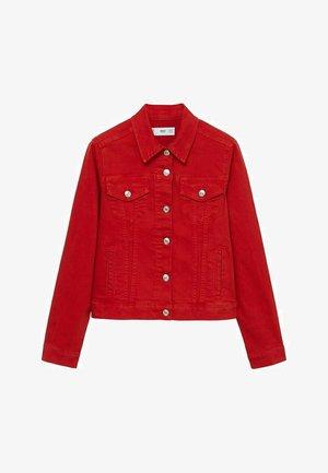 BAUMWOLLE - Denim jacket - rot