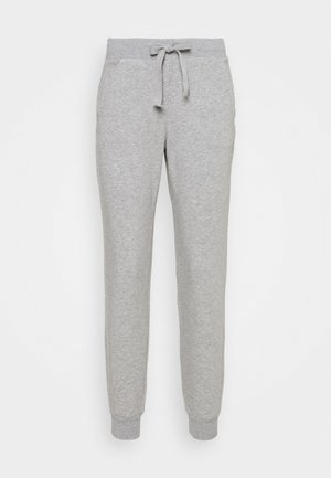 PANTS WITH POCKETS - Pantalones deportivos - grey melange