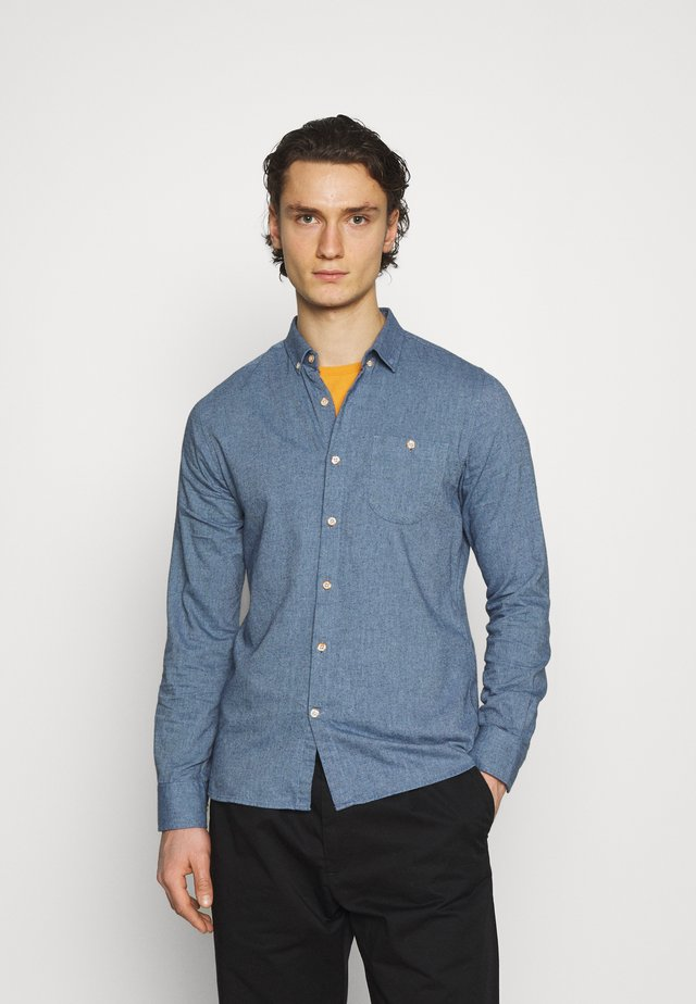 ELDER - Chemise - light blue