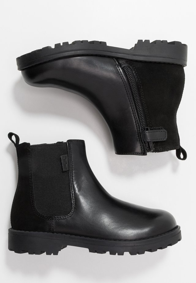 GRIZLY - Korte laarzen - black