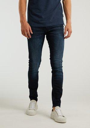 CARTER NEAL - Slim fit jeans - blue