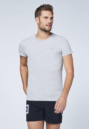 DOPPELPACK  - T-Shirt basic - grey