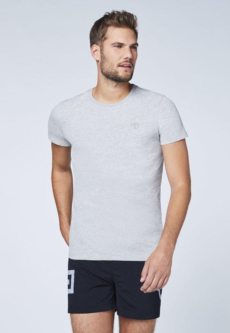 Chiemsee - DOPPELPACK  - Basic T-shirt - grey
