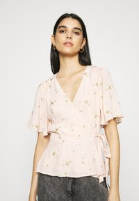 Ghost - BELLE BLOUSE - Blouse - pink/gold - 3