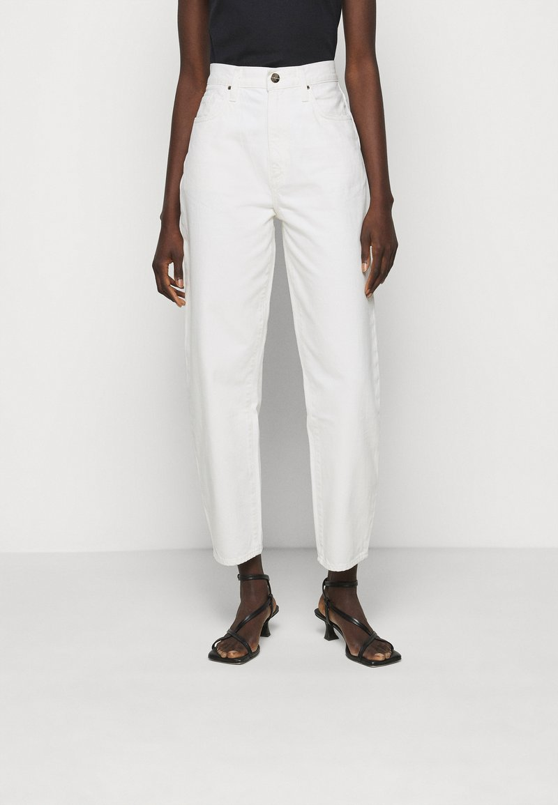 Goldsign - THE CURVE JEAN - Straight leg jeans - white