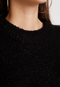 Vila - Strickpullover - black - 5