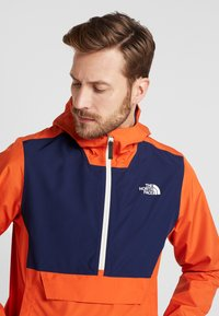 The North Face - WATERPROOF FANORAK - Hardshelljacke - papaya orange