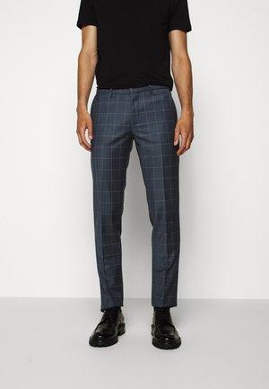 FOOT - Oblekové kalhoty - light blue
